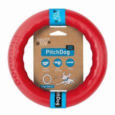 Hračka pro psa Pitch Dog 20 cm, červená