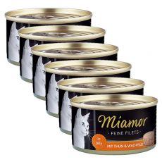 Konzerva Miamor Filet kuře a křepelčí vejce 6 x 100 g