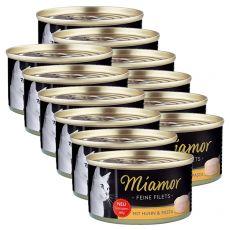 Konzerva Miamor Filet kuře a těstoviny 6 x 100 g