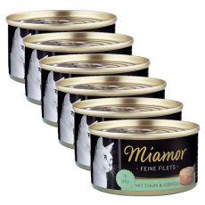 Konzerva Miamor Filet tuňák a zelenina 6 x 100 g