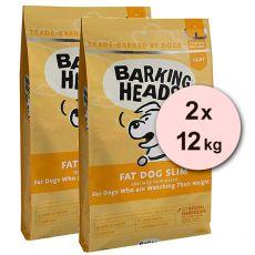 BARKING HEADS Fat Dog Slim LIGHT 2 x 12 kg