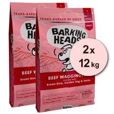 BARKING HEADS Beef Waggington 2 x 12 kg