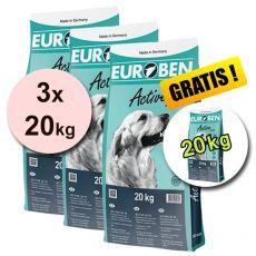EUROBEN 28-18 Active, 3 x 20 kg + 20 kg ZDARMA