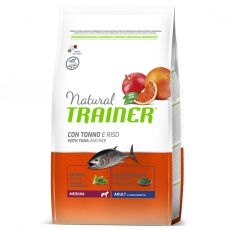 Trainer Natural Medium Adult ryba a rýže 12 kg