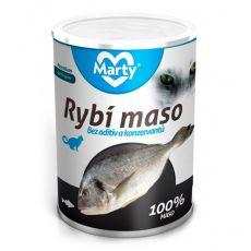 Konzerva pro kočky MARTY Premium Fish 400 g