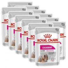 Royal Canin Exigent Dog Loaf kapsička s paštikou pro mlsné malé psy 12 x 85 g