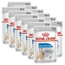 Royal Canin Light Weight Care Dog Loaf dietní kapsička s paštikou pro psy 12 x 85 g