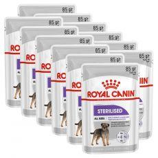 Royal Canin Sterilised Dog Loaf kapsička s paštikou pro kastrované psy 12 x 85 g