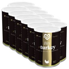 Konzerva MARTY Signature Bits of Turkey 12 x 400 g