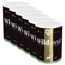 Konzerva MARTY Signature Wild Meat 6 x 300 g