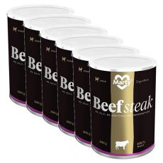 Konzerva MARTY Signature Beef Steak 6 x 300 g