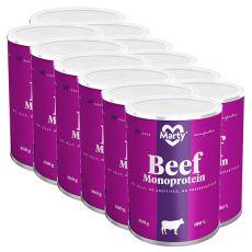 Konzerva MARTY Beef Monoprotein 12 x 400 g