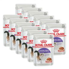 Royal Canin STERILISED 12 x 85 g - kapsička
