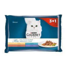 Kapsičky Gourmet Perle, mini filetky ve šťávě 4 x 85 g