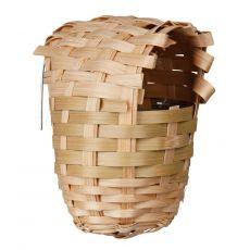 Bambusové hnízdo pro ptáky