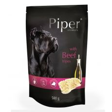 Kapsička Piper Adult s hovězími dršťkami 500 g
