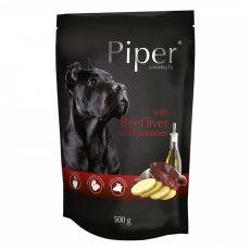 Kapsička Piper Adult s hovězími játry a bramborami 500 g