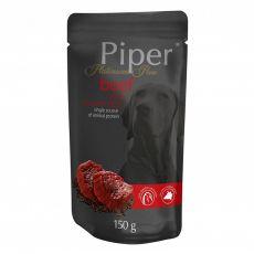 Kapsička Piper Platinum Pure hovězí a hnědá rýže 150 g