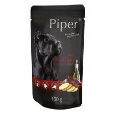 Kapsička Piper Adult s hovězími játry a bramborami 150 g