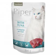 Kapsička Piper Cat Sterilised s tuňákem 100 g