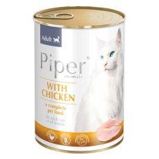 Konzerva Piper Cat Adult s kuřecím masem 400 g