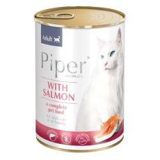 Konzerva Piper Cat Adult s lososem 400 g