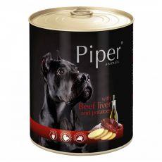 Konzerva Piper Adult s hovězími játry a bramborami 800 g