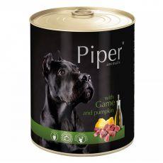 Konzerva Piper Adult se zvěřinou a dýní 800 g