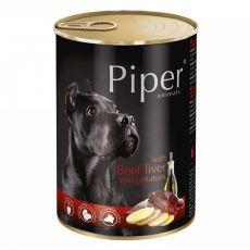 Konzerva Piper Adult s hovězími játry a bramborami 400 g