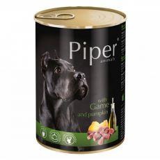 Konzerva Piper Adult se zvěřinou a dýní 400 g