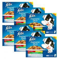 Kapsičky Felix Fantastic Duo, lahodný výběr se zeleninou v želé 6 x 400 g