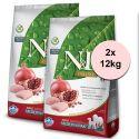 Farmina N&D Prime dog GF MEDIUM & MAXI Chicken & Pomegranate 2 x 12 kg