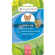 Antiparazitní kapky pro kočky bogaprotect SPOT-ON S, 3 x 0,7 ml
