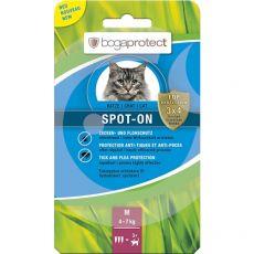 Antiparazitní kapky pro kočky bogaprotect SPOT-ON M, 3 x 1,2 ml