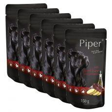 Kapsička Piper Adult s hovězími játry a bramborami 6 x 150 g