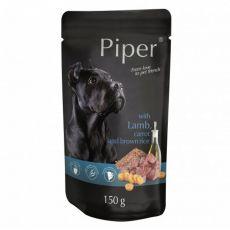 Kapsička Piper Adult s jehněčím, mrkví a hnědou rýží 150 g