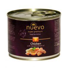 Konzerva NUEVO CAT Kitten Chicken 200 g