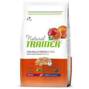 Trainer Natural Adult Medium, kuře a rýže 3 kg
