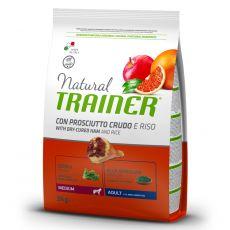 TRAINER Natural Medium Adult sušená šunka 3 kg