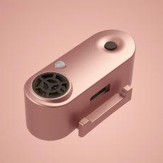 TICKLESS MINI nabíjecí ultrazvukový repelent pro malé psy – růžovozlatý