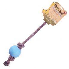 Míč na laně Beco Ball EKO, modrý L