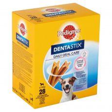 Pedigree Dentastix Daily Oral Care dentální pochoutky pro psy malých plemen 28 ks (440 g)