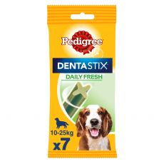 Pedigree Dentastix Daily Fresh dentální pochoutky pro psy středních plemen 7 ks (180 g)