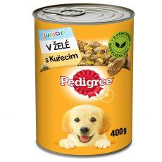Pedigree konzerva s kuřecím v želé pro štěňata 400 g