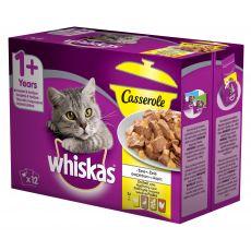 Whiskas kapsička Casserole drůbeží výběr v želé 12 x 85 g