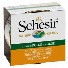 Schesir dog kuřecí a aloe v želé 150 g