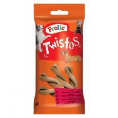 Frolic pochoutka Twistos s hovězím masem 105 g