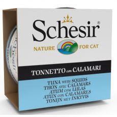 Schesir cat tuňák a chobotnice v želé 85 g