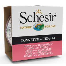Schesir cat tuňák a červená parmice v želé 85 g
