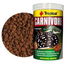 TROPICAL Carnivore potápějící se tablety 1000 ml/600 g
